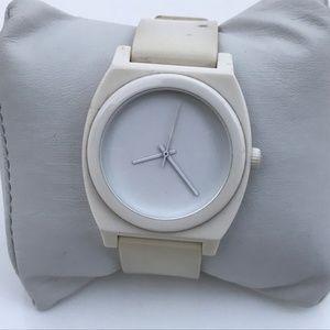 Nixon Men Watch Minimal White Analog Wrist Watch